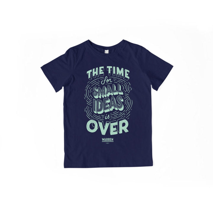 A navy youth t-shirt with