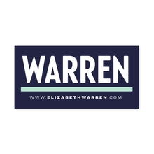 Warren Bumper Sticker Pack