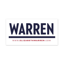 Load image into Gallery viewer, Warren Bumper Sticker Pack (3928570789997)