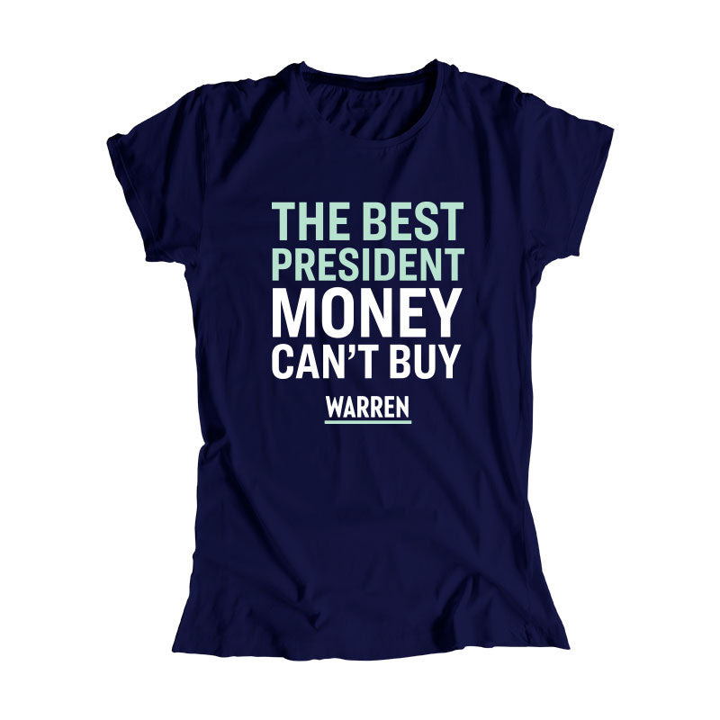 The Best President Money Can't Buy Fitted T-Shirt