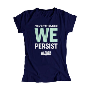 We Persist Fitted T-shirt (1518922465389)