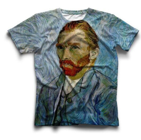 Vincent Van Gogh Self Portrait Print T-Shirt