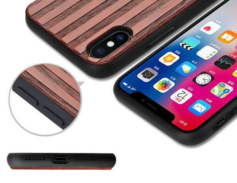 Wooden Carved iPhone X Case