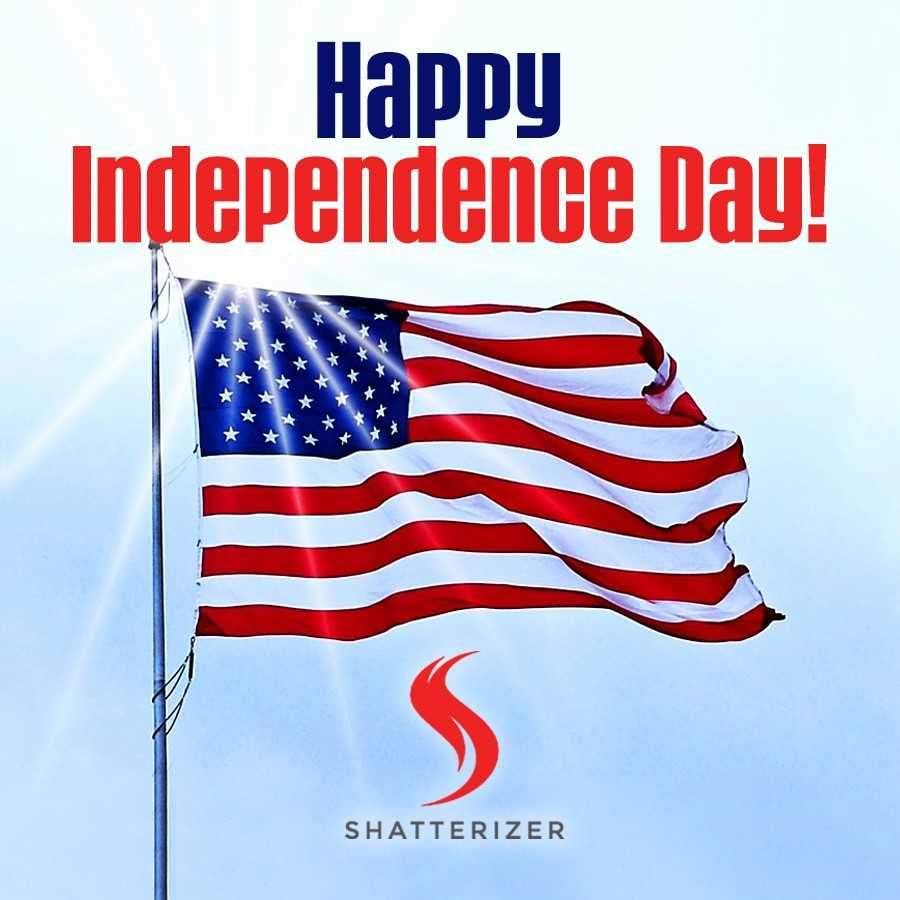Happy Independence Day from Shatterizer with #VapeLove!