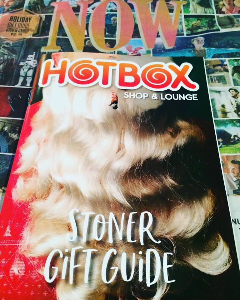 Thank You Hotbox Café … See what's in NOW Magazine's Stoner Gift Guide