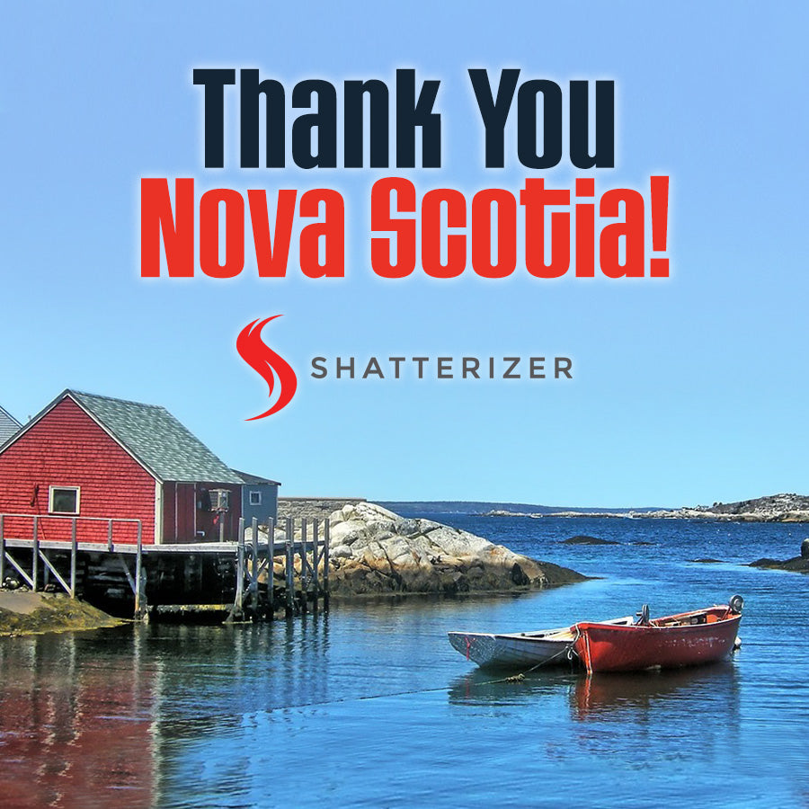 Thank You East Coast: Perfect Clouds reported over Nova Scotia!