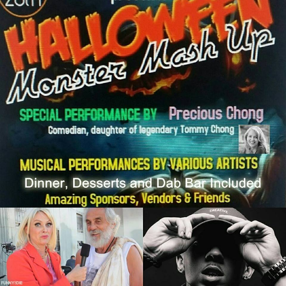 High Society Supper Club & Precious Chong: Monster MashUp