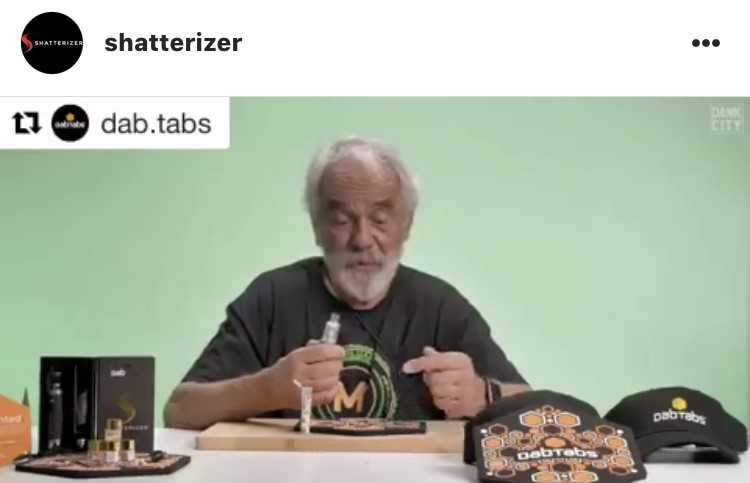 Congrats DabTabs on being Tommy Chong Approved …