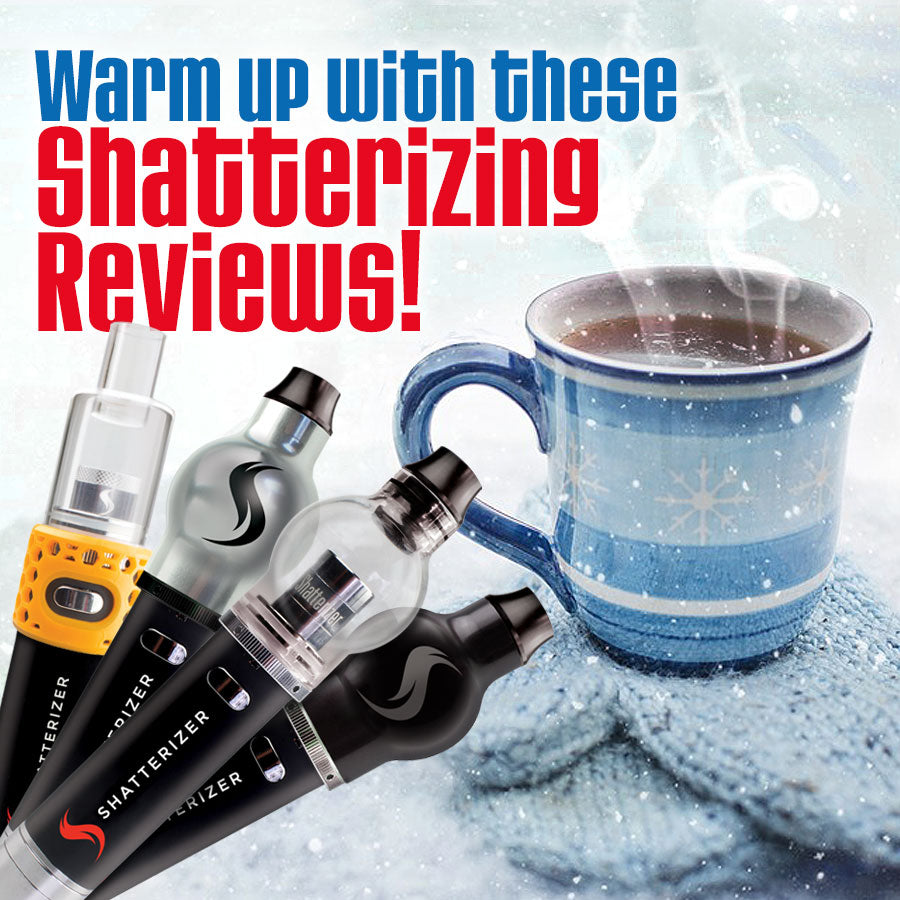 New #Shatterizing Reviews - THANK YOU!