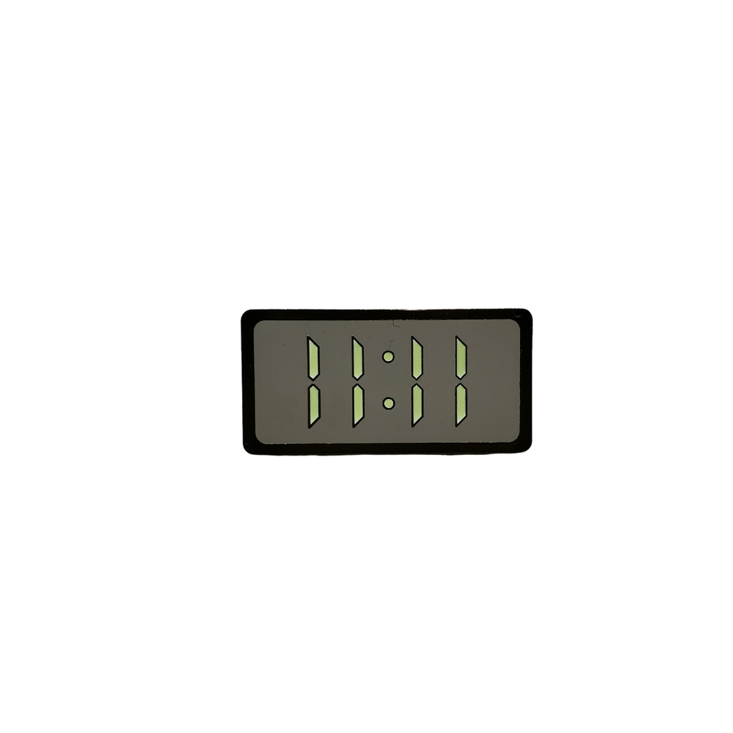 11:11 Glow in the Dark Pin