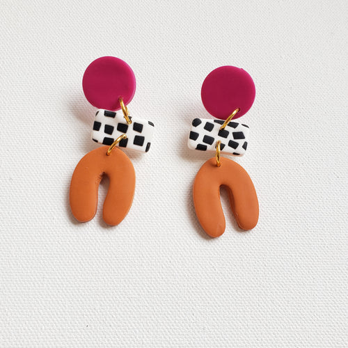 Conga Dangle Earrings