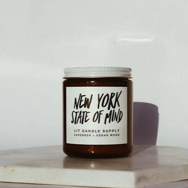 New York State of Mind Candle