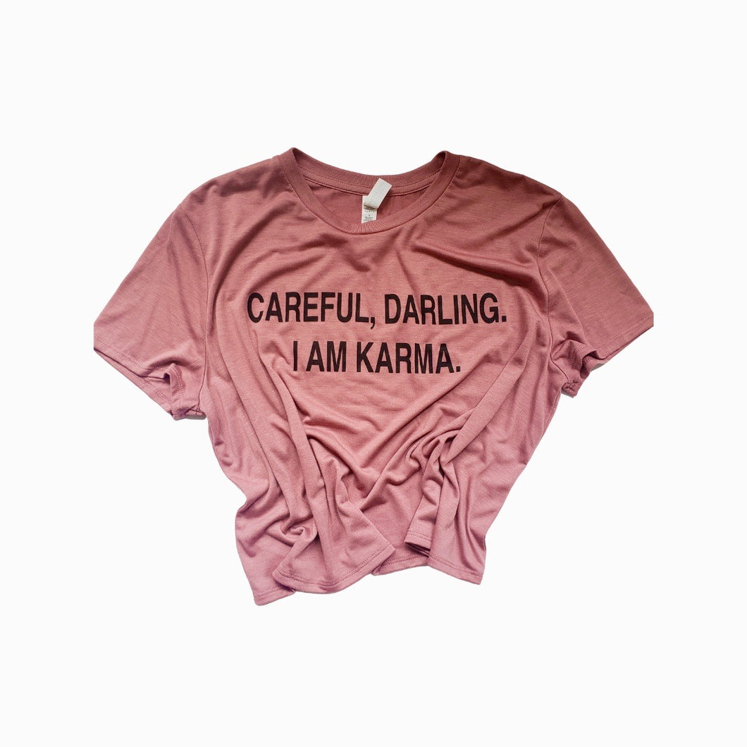 Careful Darling Crop Top