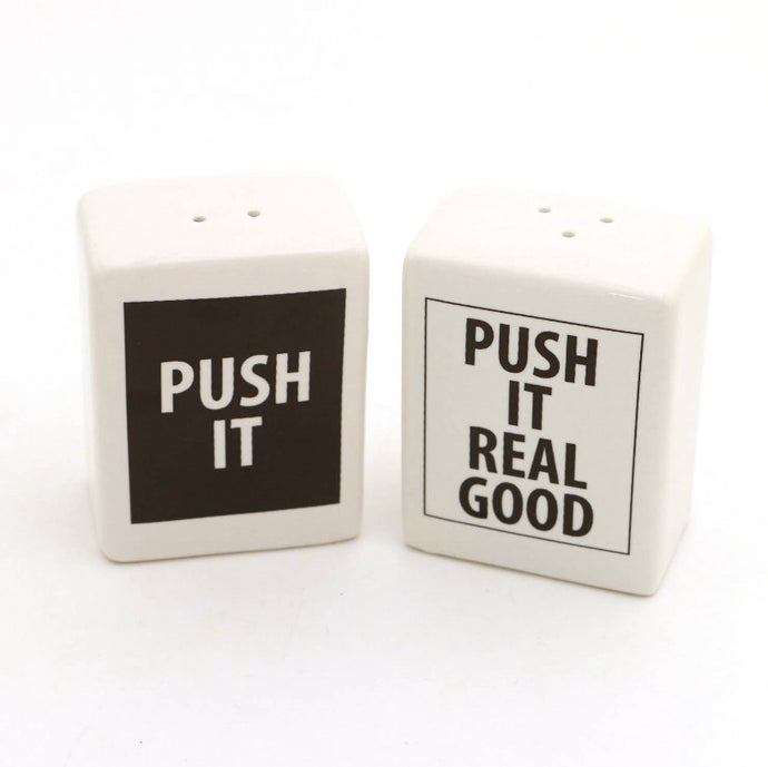 Push it Real a Good Salt-n-Pepa Shakers