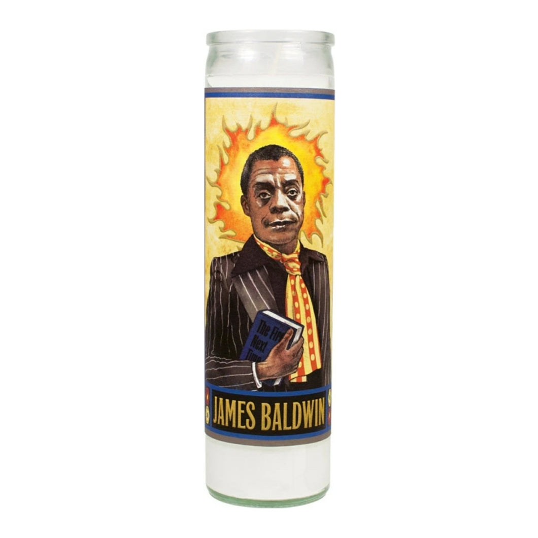 James Baldwin Saint Candle