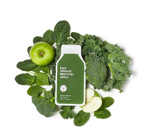 Green Reset Anti Aging Raw Juice Mask