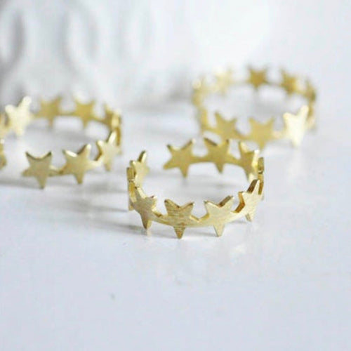 Star Adjustable Ring