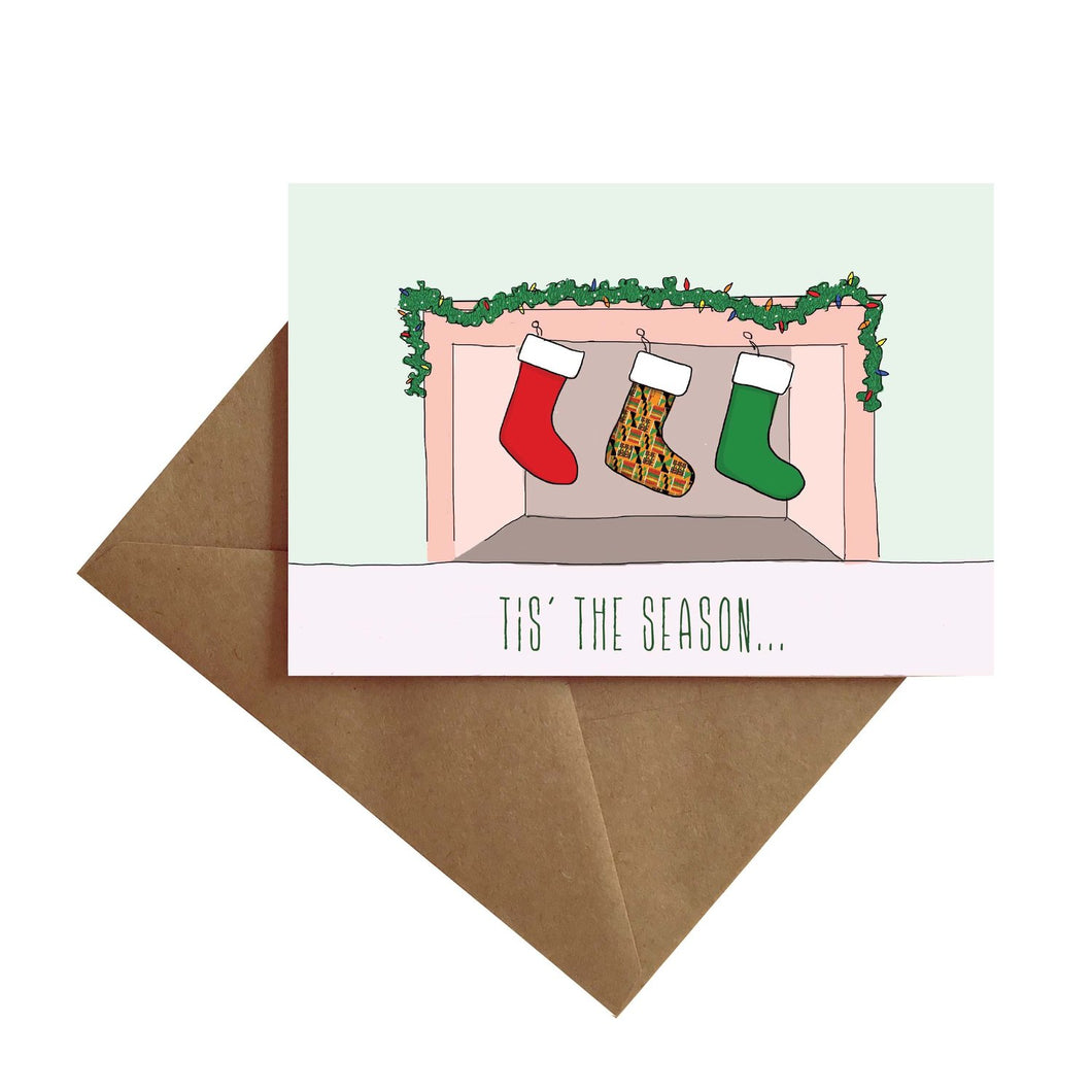Stockings Greeting Card