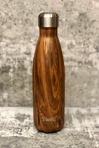 S'well Reuseable Bottle -17 oz. Teakwood