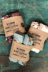 Milkbarn Burp Cloths Organic Set of Two