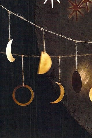Phases of the Moon Garland