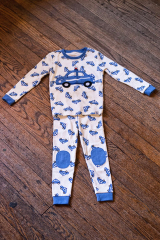 Toddler Pajama Set-Police Cars
