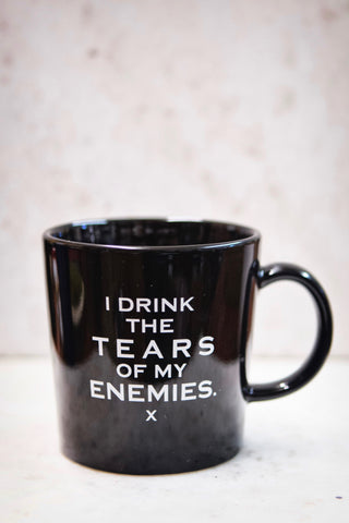 I Drink The Tears Of My Enemies Mug Black