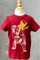 Kid's Graphic Tee-Rockin' Monkey with Guitar