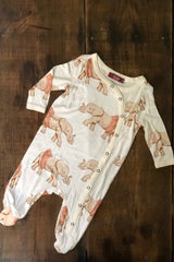 Organic Cotton Footed Romper
