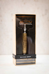 Olivina Men Deluxe Safety Razor + 5 Blades