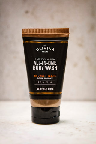 Olivina Men All-in-One Body Wash-Travel Size