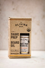 Olivina Men 2-in-1 Shave Prep and Beard Oil