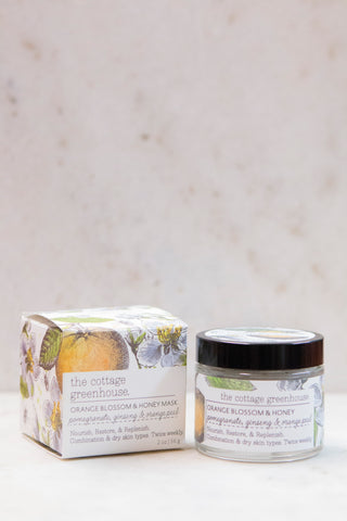 Orange Blossom and Honey Mask