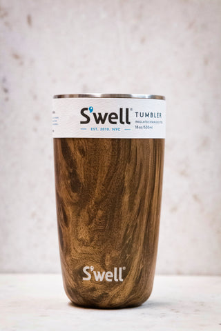S'well Tumbler-18 oz. Teakwood