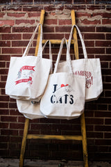 Canvas Tote Bags Graphic Prints