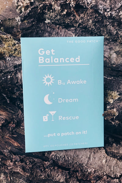 Plant Based Patches |Get Balanced Set