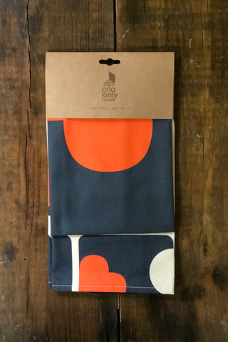 Orla Kiely Tea Towel Set-Elephant