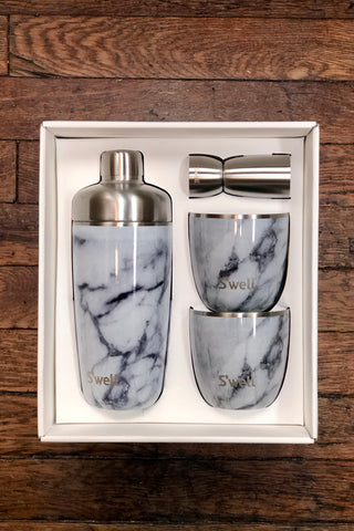 S'well Cocktail Kit-White Marble
