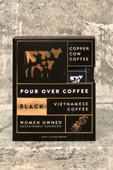 Copper Cow Pour Over Coffee