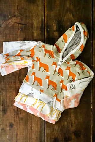 Organic Hooded Romper