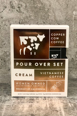 Copper Cow Coffee Pour Over Set