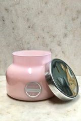 Volcano Signature Pink Jar Candle