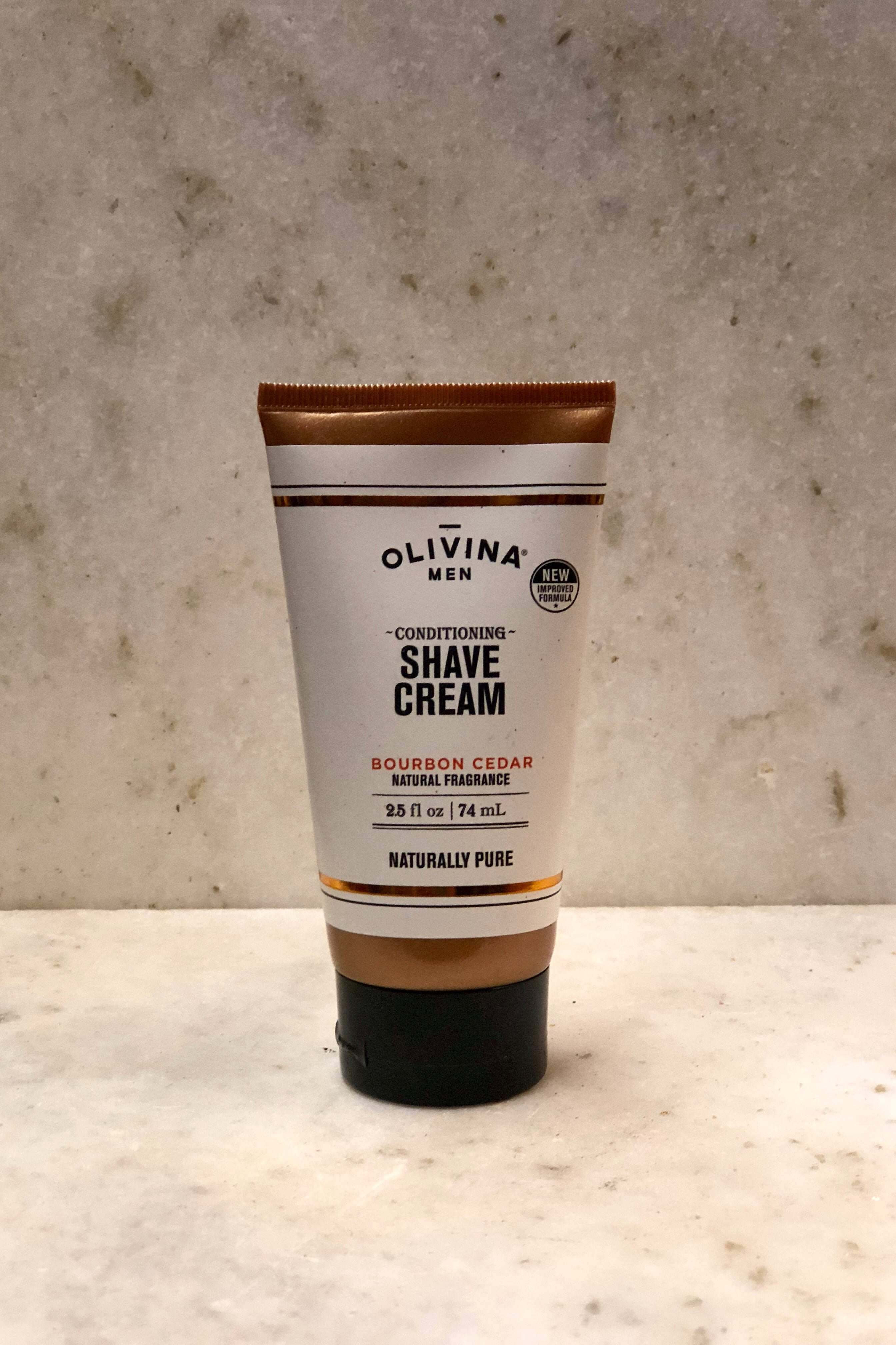 Olivina Men Conditioning Shave Cream-Travel Size