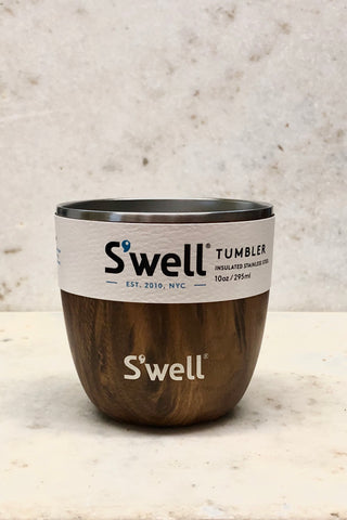 S'well Tumbler-10 oz. Teakwood