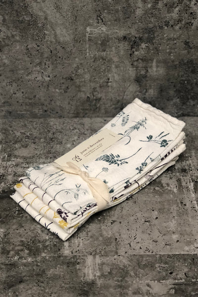 Mixed Wildflower Napkins-Set of 4