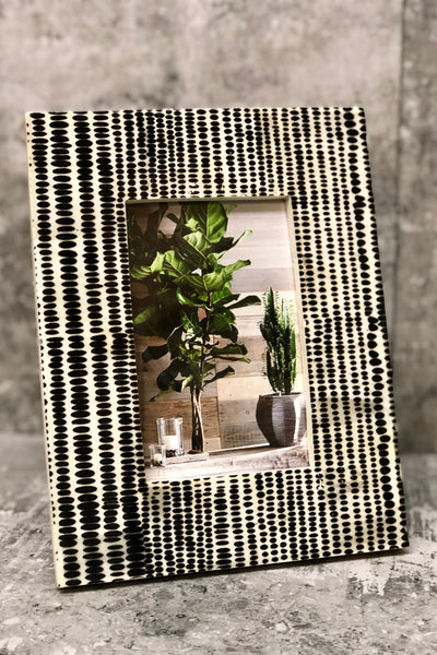 Tribal Dots Picture Frame