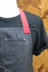 Denim Chef's Apron