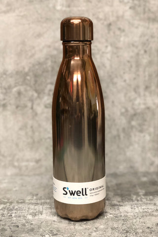 S'well Reuseable Bottle -17 oz. Rose Gold Ombre