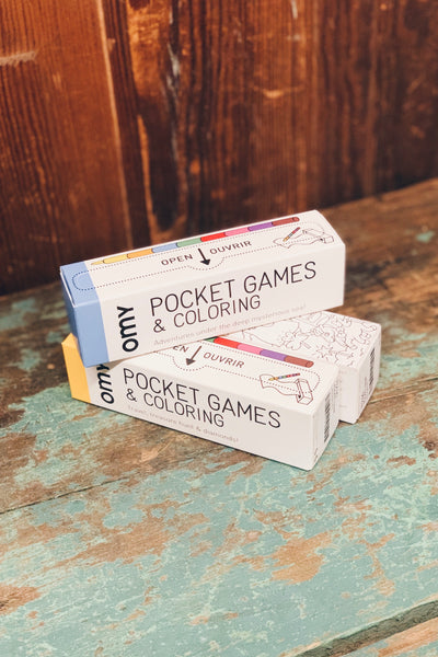 Pocket Games and Coloring
