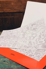Placemat Coloring Sheets